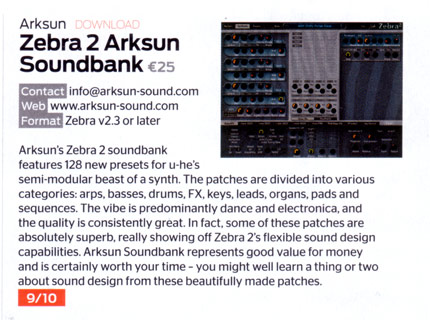 CM139 Zebra Soundbank Review